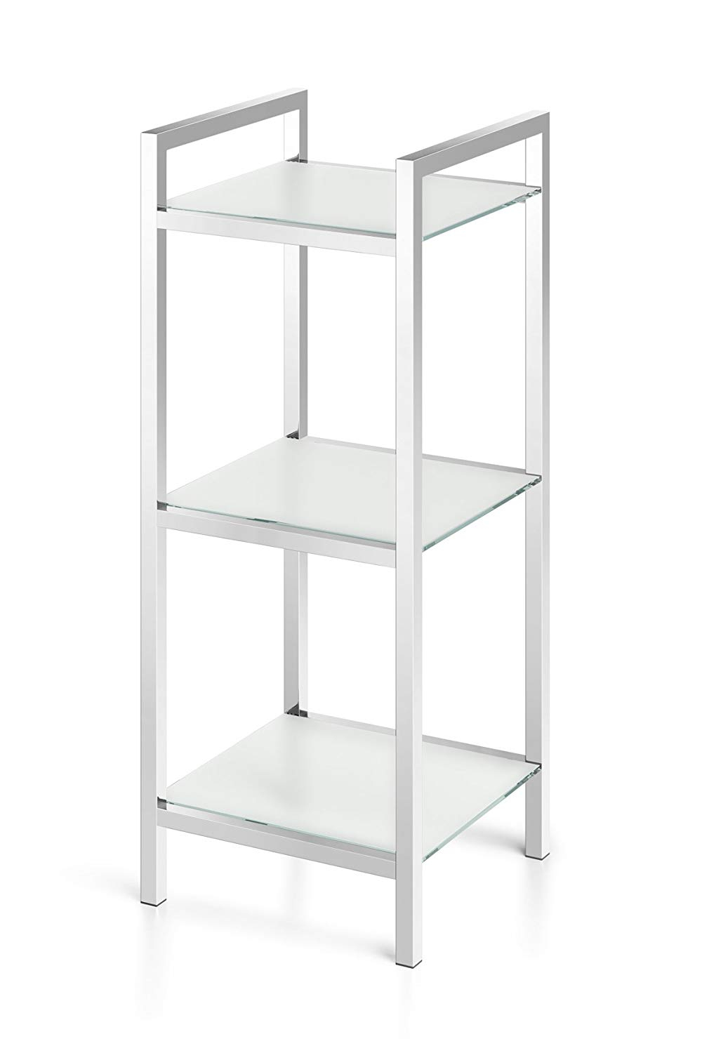 Zack Standard Bookcases In Most Current Zack 40333 Original Cenius High Gloss Free Standing Bathroom (View 12 of 20)
