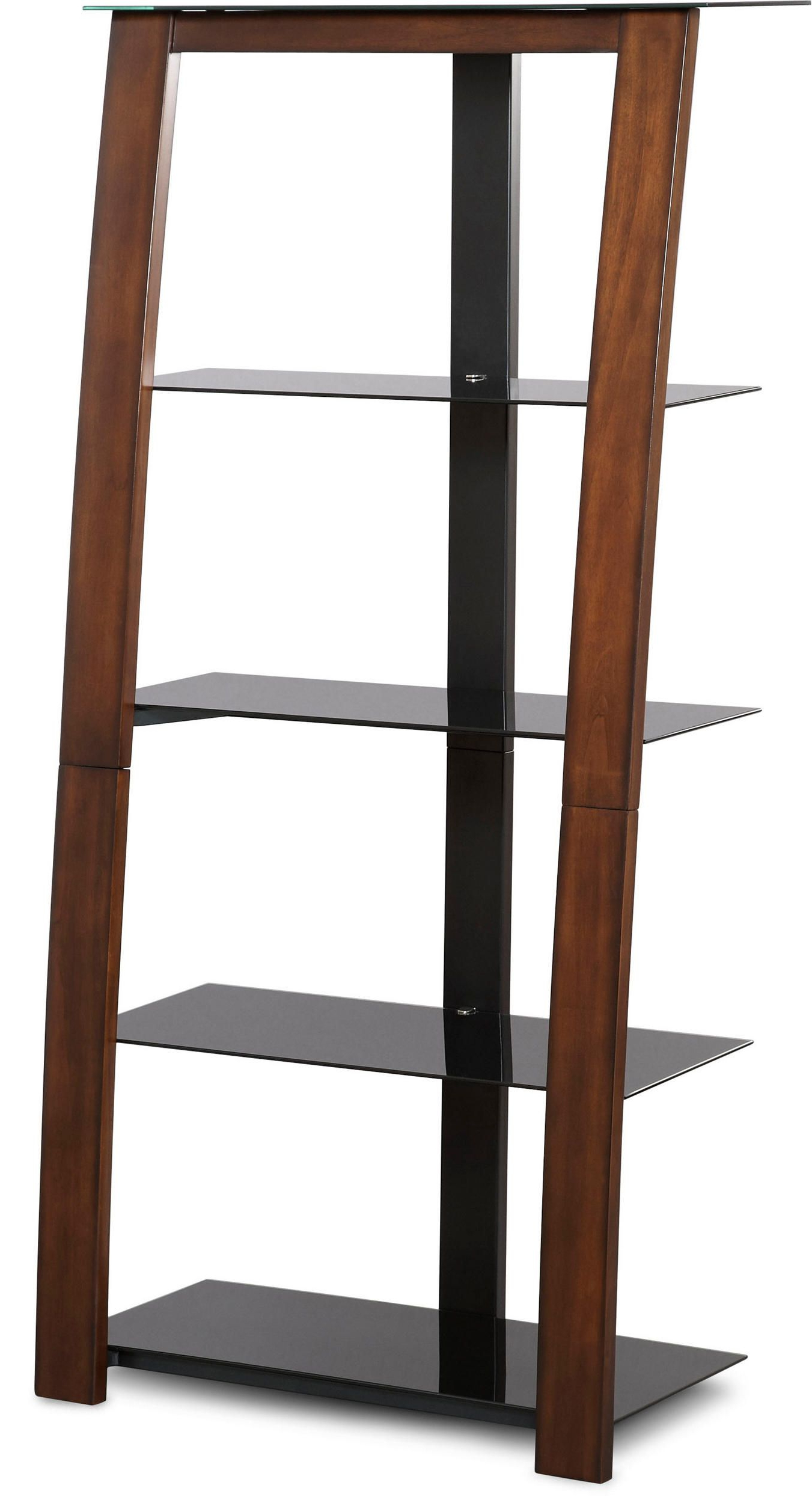 "Zeta Brown 60"" Bookcase (Gallery 5 of 20)"
