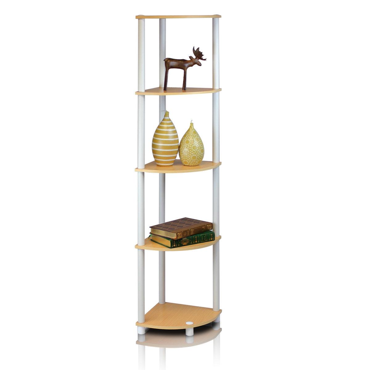 Zipcode Design Johannes Corner Bookcase In 2019 Johannes Corner Bookcases (View 5 of 20)