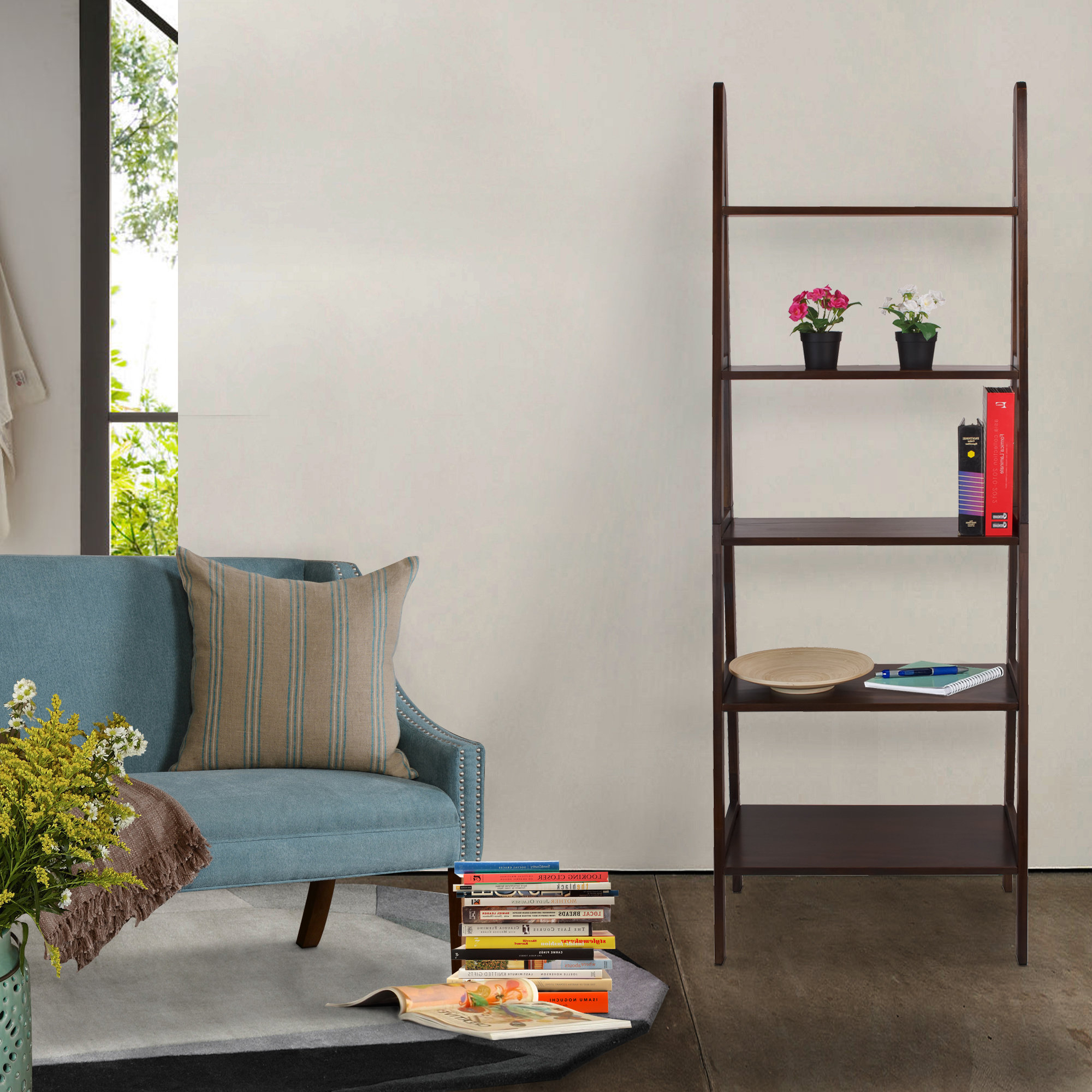 Zipcode Design Ranie Ladder Bookcase For Most Recently Released Ranie Ladder Bookcases (View 19 of 20)