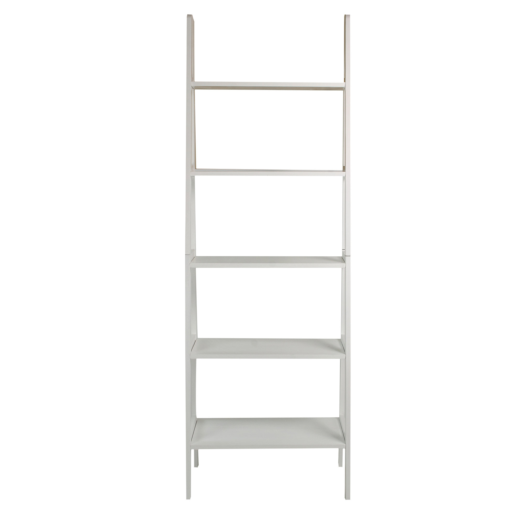 Zipcode Design Ranie Ladder Bookcase With Famous Mayna Ladder Bookcases (View 20 of 20)