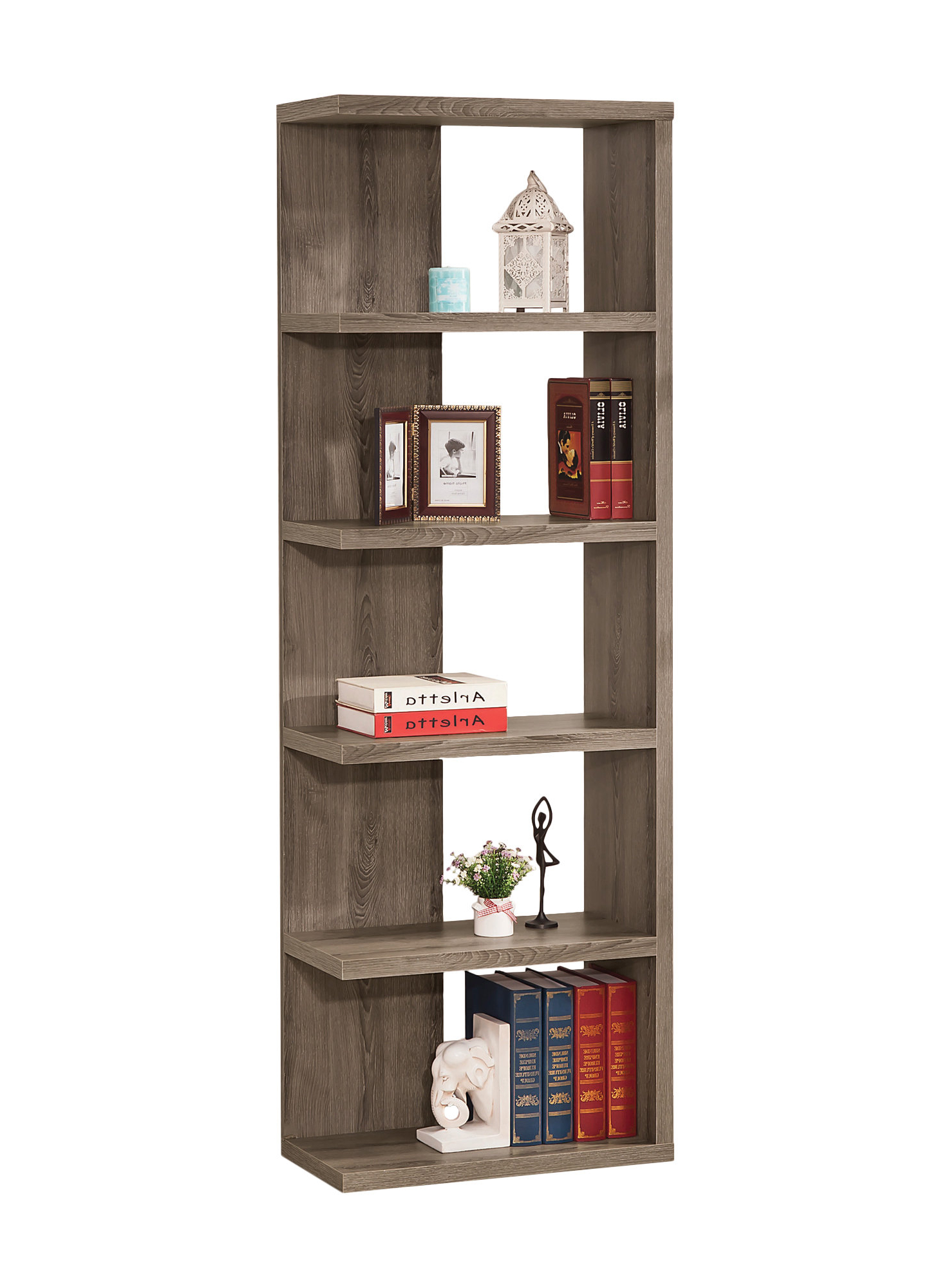 Zipcode Design Zack Standard Bookcase With Regard To Latest Ignacio Standard Bookcases (Gallery 16 of 20)