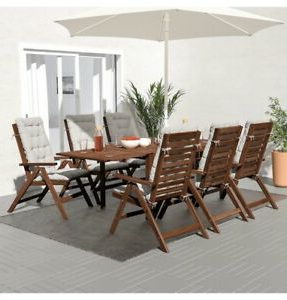 2019 Adejah 35'' Dining Tables In Ikea Applaro Outdoor Dining Table Timber (View 20 of 25)