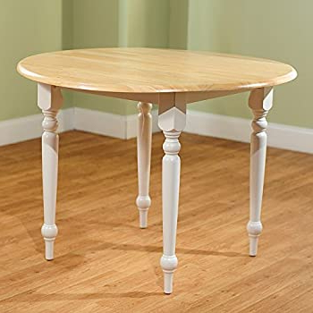 2019 Amazon – Cottage Style 40 Inch Diameter Round Dining Pertaining To Rubberwood Solid Wood Pedestal Dining Tables (View 6 of 25)