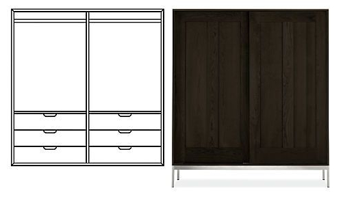 2019 Anywhere Armoires, Linear – Cabinets & Armoires – Living Throughout Edmondson Dining Tables (View 8 of 25)