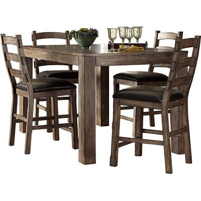 2019 Grayson Counter Height Extendable Dining Table (View 10 of 25)