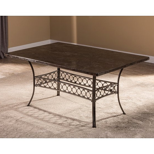 2019 Hillsdale – Brescello Dining Collection Rectangle Dining Inside Genao 35'' Dining Tables (View 2 of 25)