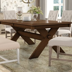 2019 Katarina Extendable Rubberwood Solid Wood Dining Tables Within Laurel Foundry Modern Farmhouse Isabell Acacia Butterfly (View 3 of 25)