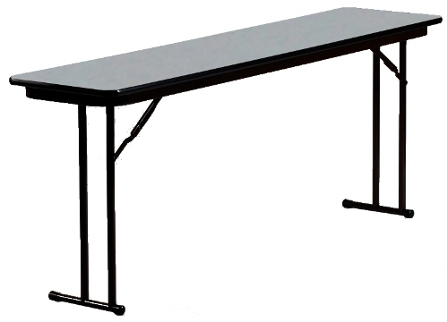 2019 Mode Square Breakroom Tables Within 18 Inch Wide 3/4 Laminate Top Seminar Table W/ Off Set Legs (View 24 of 25)