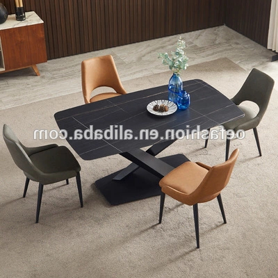 2019 Oe Fashion Italian Table Chair Combination Marble With Grimaldo (View 18 of 25)