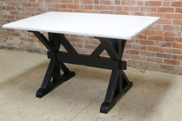 2019 X Base Trestle Table – Ecustomfinishes For Trestle Dining Tables (View 22 of 25)