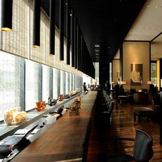 """2020 35 Best The Puli Hotel Shanghai Images On Pinterest With Bentham 47"""" L Round Stone Breakroom Tables (View 17 of 17)"""