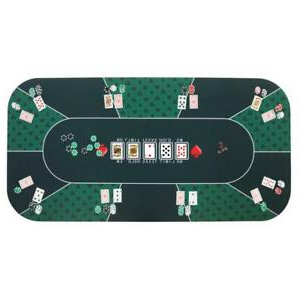 """2020 48"""" 6 – Player Poker Tables Intended For Poker Mat Rubber 8 Player Table Top Layout Cards Games (View 12 of 25)"""
