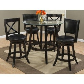 """2020 Aaron 42"""" Round Counter Height Table Base (View 6 of 25)"""