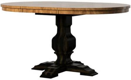 """2020 Amazon – Sturdy And Stylish 60"""" Round Dining Table With Regard To Rubberwood Solid Wood Pedestal Dining Tables (View 16 of 25)"""
