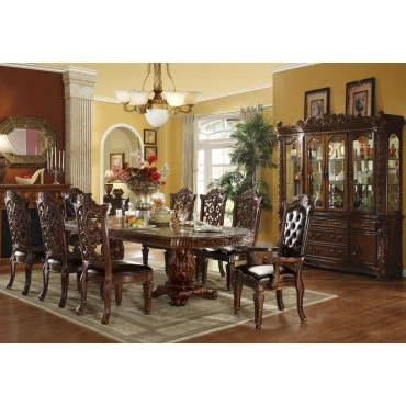 2020 Classic Dining Tables In Vendome Gold Formal Dining Table Set (View 23 of 25)
