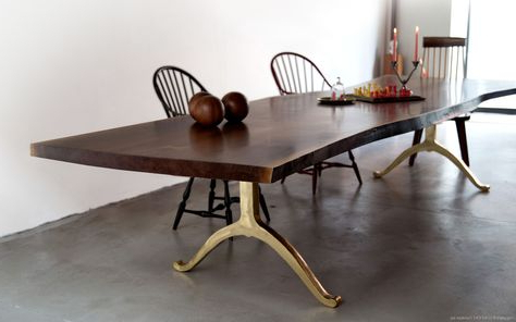 2020 Drake Maple Solid Wood Dining Tables Throughout Live Edge Tables With Solid Walnut, Maple & Oak Slabs (View 18 of 25)
