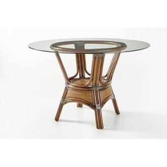 2020 Folcroft Acacia Solid Wood Dining Tables Intended For Isabell Acacia Butterfly Leaf Extendable Solid Wood Dining (View 20 of 25)