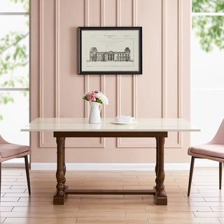2020 Leonila 48'' Trestle Dining Tables Throughout Eddlewood Farmhouse Folding Trestle Console To Dining (View 22 of 25)