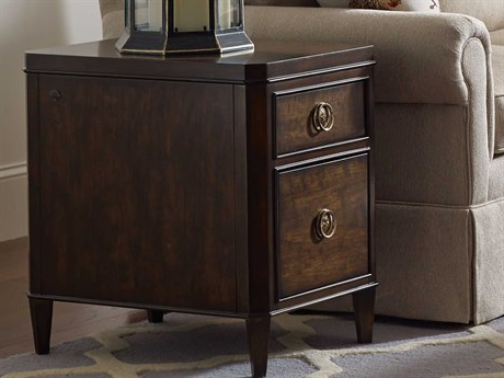 """2020 Murphey Rectangle 112"""" L X 40"""" W Tables In American Drew Grantham Hall Deep Coffee Tone 62''l X 19''w (View 19 of 25)"""