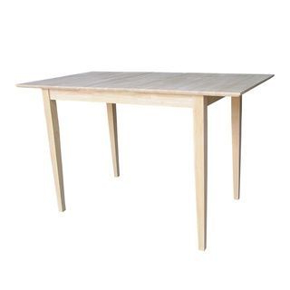 32 Inch Wide Unfinished Shaker Style Parawood Counter For Current Cainsville 32'' Dining Tables (View 2 of 25)