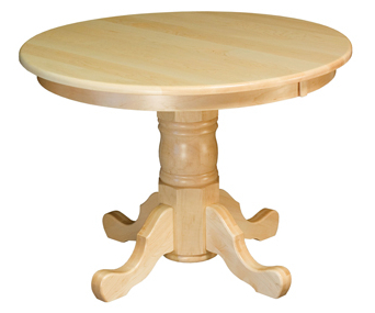 """42"""" Round Pedestal Dining Table (View 8 of 25)"""