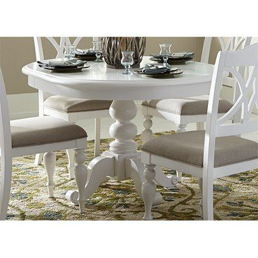 47'' Pedestal Dining Tables Inside Famous Liberty Summer House I Round Pedestal Table In Oyster (View 13 of 25)