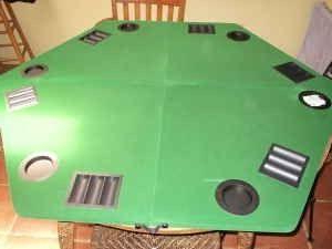 """48"""" 6 – Player Poker Tables Within Most Recently Released Marlboro Poker Table Gaming Top With Case – (lake Alfred (View 2 of 25)"""