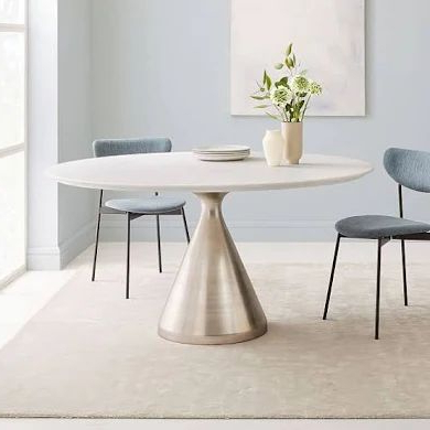 48 Oval Dining Table – Google Shopping In (View 24 of 25)