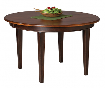 48 X 48 Table – Amish Furniture Connections – Amish With Regard To Recent Monogram 48'' Solid Oak Pedestal Dining Tables (View 11 of 25)