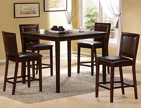 Featured Photo of Romriell Bar Height Trestle Dining Tables