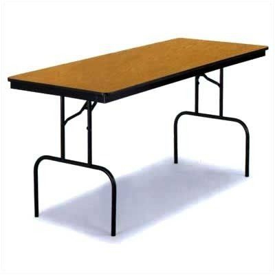 """72"""" L Breakroom Tables And Chair Set Throughout 2020 Midwest Folding 3072f36 30"""" X 72"""" Particleboard Core (View 6 of 25)"""