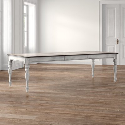 8 + Seat Rectangular Kitchen & Dining Tables You'll Love In Most Recent Carelton 36'' Mango Solid Wood Trestle Dining Tables (View 16 of 25)