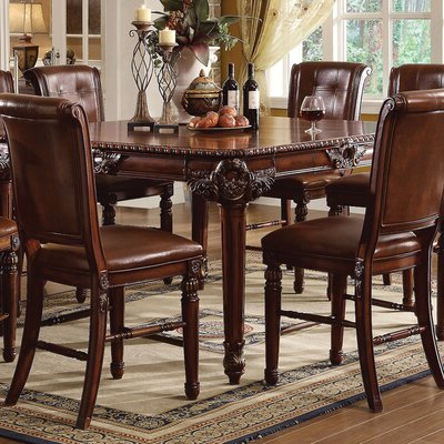 8 + Seat Round Kitchen & Dining Tables You'll Love In 2020 With Regard To Favorite Andreniki Bar Height Pedestal Dining Tables (View 13 of 25)
