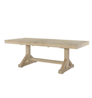 Featured Photo of Alexxes 38'' Trestle Dining Tables
