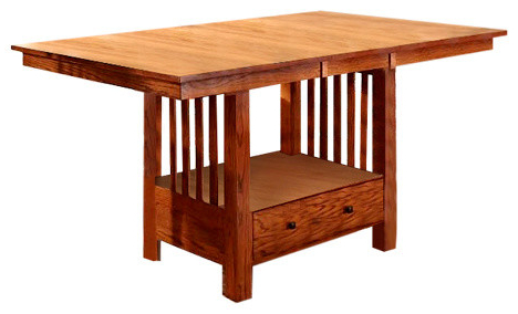 """A America Laurelhurst 72"""" Rectangular Gathering Table With For Well Known Warnock Butterfly Leaf Trestle Dining Tables (View 10 of 25)"""