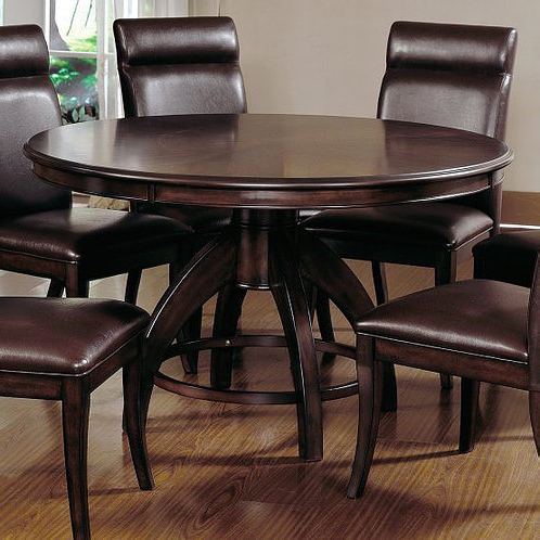 Abby Bar Height Dining Tables Throughout Newest Hillsdale – Nottingham Dining Collection Round Pedestal (View 14 of 25)