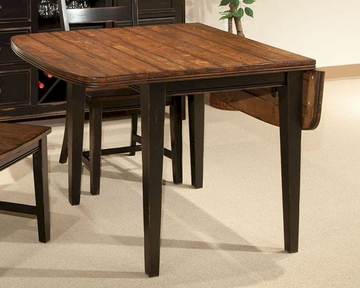 Adams Drop Leaf Trestle Dining Tables For Best And Newest Intercon Drop Leaf Dining Table Winchester In Wn Ta 3650d (View 10 of 25)