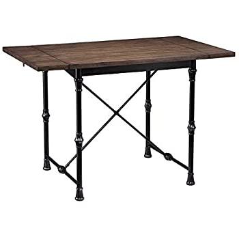 Adams Drop Leaf Trestle Dining Tables Pertaining To Most Popular Amazon – Southern Enterprises Bradford Farmhouse Drop (View 3 of 25)