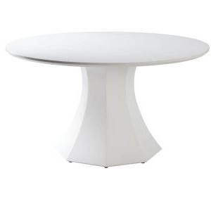 Adsila 24'' Dining Tables In Most Popular Sunpan Ikon Sanara Round Dining Table – Large – (View 9 of 25)