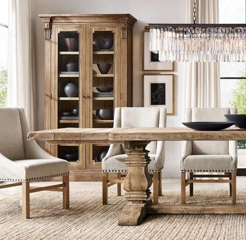 Alexxia 38'' Trestle Dining Tables In Most Current #familyroomaccentchairs Key: 3018589170 # (View 25 of 25)
