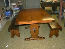 Alexxia 38'' Trestle Dining Tables Regarding Favorite Ethan Allen Dining Tables For Sale (View 2 of 25)