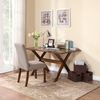 Alexxia 38'' Trestle Dining Tables With Most Current Overstock: Online Shopping – Bedding, Furniture (View 6 of 25)