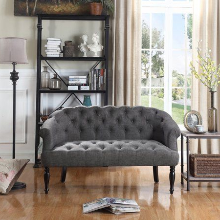 Alton Furniture Bona Upholstered Settee/loveseat Image 10 With 2019 Mcloughlin Dining Tables (View 18 of 25)
