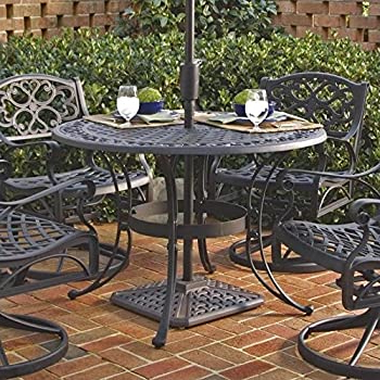 Featured Photo of Deonte 38'' Iron Dining Tables