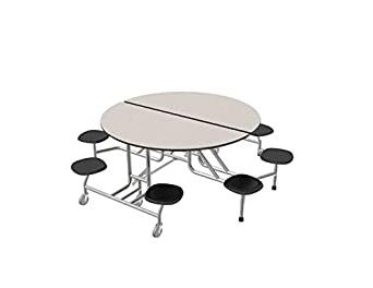 "Amazon: Palmer Hamilton 59t Easy Folding 60"" Round Regarding Favorite Mode Round Breakroom Tables (View 23 of 25)"