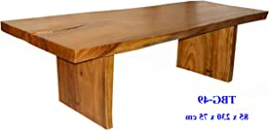 Amazon – Solid Mango Wood Dining Table Custom Sizes Pertaining To Most Up To Date Alfie Mango Solid Wood Dining Tables (View 18 of 25)