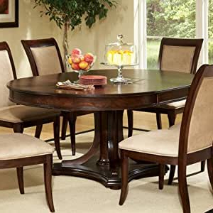 Amazon – Steve Silver Marseille Round Pedestal Dining Intended For Most Recently Released Servin 43'' Pedestal Dining Tables (View 12 of 25)