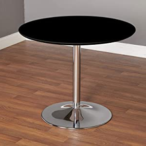 Amazon: Tms Pisa Modern Retro Round Dining Table, 35.4 Within Most Recent Akito (View 8 of 25)