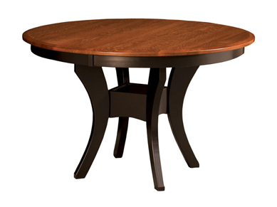 Amish Furniture For Most Recent Geneve Maple Solid Wood Pedestal Dining Tables (View 24 of 25)